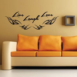 Live Laugh Love Wall Decal ( KC400 )