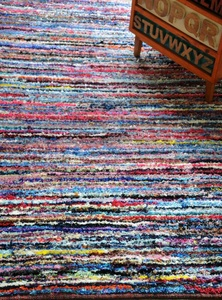 Velour Hand-woven Polyester Rugs