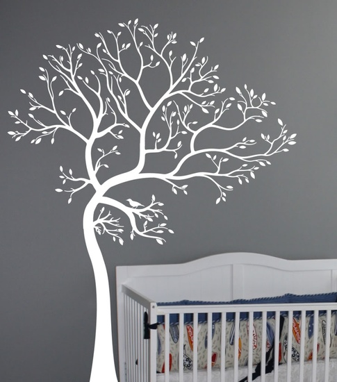 Tree Of Spring Wall Decal ( KC020 )