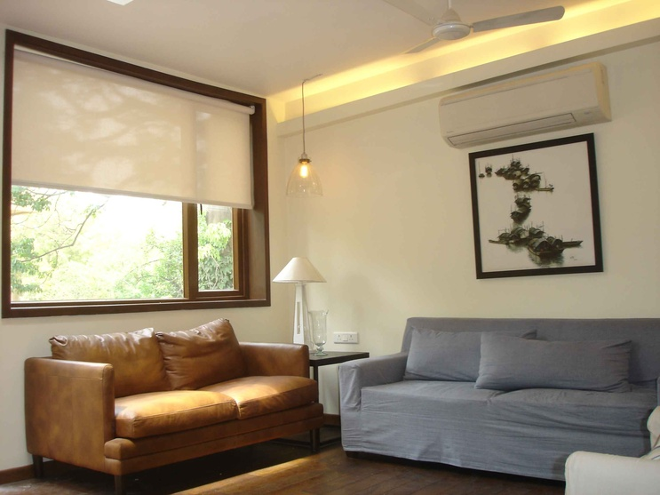 Roller Blinds used\ in Asiad Village, New Delhi