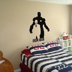 Iron Man Wall Decal ( KC339 )