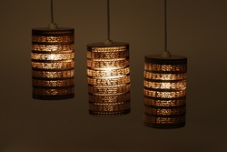 Sustainable Handmade Sylvn Studio Keg Hanging Lamp