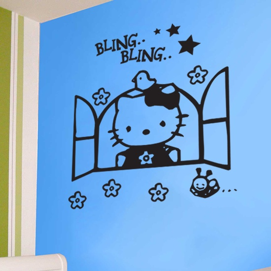 Hello Kitty Wall Decal ( KC195 )