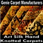 Art Silk Hand Knotted Carpets