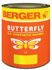 Berger Butterfly GP Enamel Paint for Wood, Metal