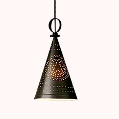 Cone Perforated Kulfi Model Pendant Lamp