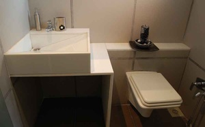 Modern Bathroom Washbasin and Commode
