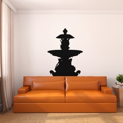 Fountain Wall Decal ( KC217 )