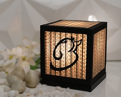 Sustainable Handmade Sylvn Studio Om Ganesh Lamp