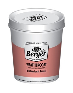 Berger Weathercoat Smooth Weatherproof Paint