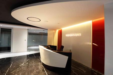 office reception interior. anjan gupta architects office reception interior