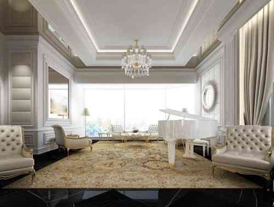 Exploring Luxurious Homes : Timeless Living Room Design