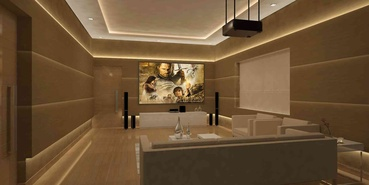 HOME THEATRE Interior Designer