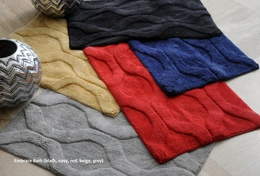 Embrace Cotton Fibre Bath Rugs