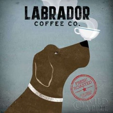 Labrador Coffee Co Poster