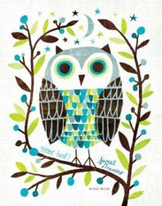 Night Owl I Poster