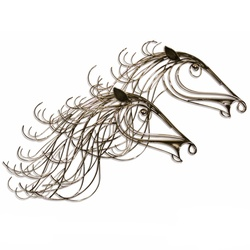 Gallop Chrome Plated Decor Accessory