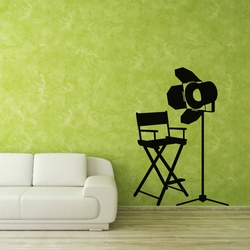Light Action Wall Decal ( KC331 )
