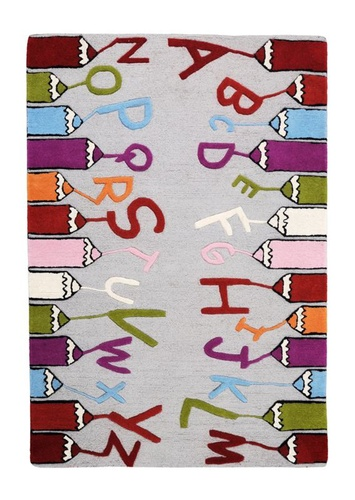 Pencilo Patterned Kids Rugs