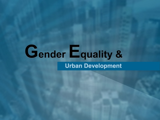 Gender Equality and Urban Development