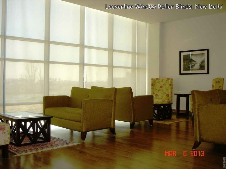 Window Roller Blinds used in home decor