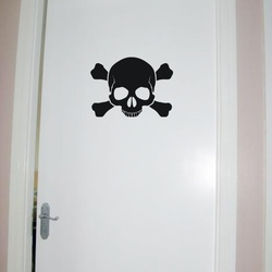 Danger Wall Decal ( KC271 )