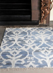 Vivian Hand-wovem Wool, Denim Rugs