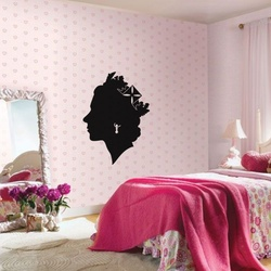 Queen Victoria Wall Decal ( KC216 )