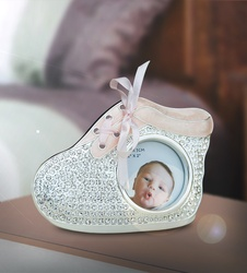 Photo Frame Shoe Pink