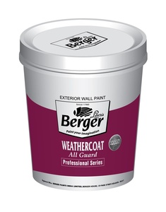 Berger Weathercoat Water Resistant Exterior Paint