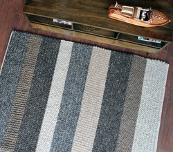 Casco Hand-woven, Stripped Pattern Rugs