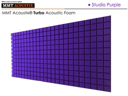 MMT Acoustix® Turbo Acoustic Panels Purple