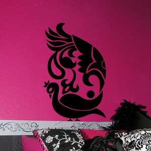 Peacock Passion Wall Decal ( KC118 )