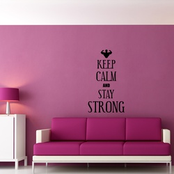 Keep Calm and Stay Younger Wall Decal ( KC353 )