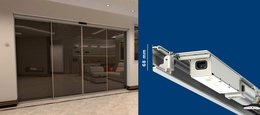 Airdrive - World's slimmest automatic sliding door system