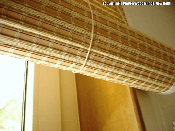 The Woven Wood Blinds