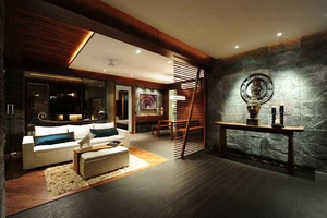 Zen inspired Living Area