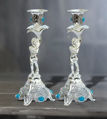 Buy Candle Stand Lady Pair
