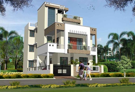 RESIDENCE LOCATED IN LUCKNOW, UTTAR PRADESH, INDIA