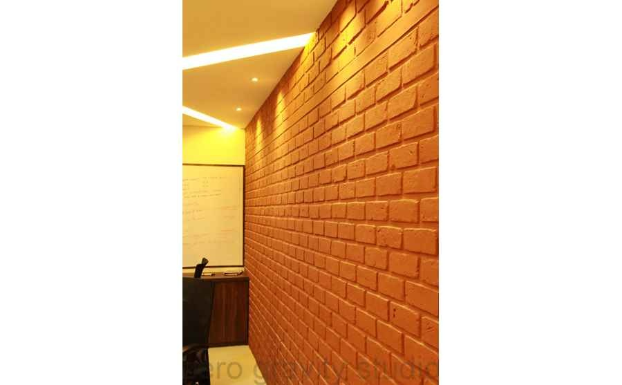 Brick Wall in the Office
