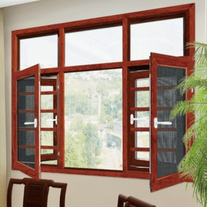 Casement Windows with integrated grill