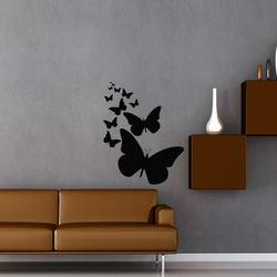 Butterfly Buzz Wall Decal ( KC305 )