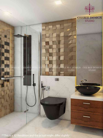 Bathrooms By Cee Bee Design Studio Interior Designer In Bangalore Karnataka India