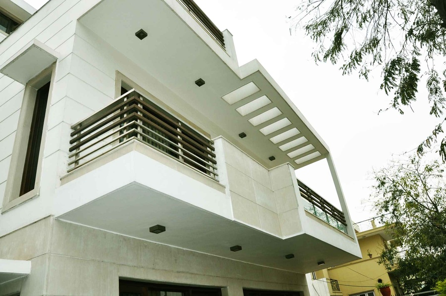 Front Design Of House In Haryana Part - 38: Modern House Design