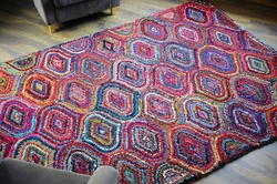 Kosice Multi-color Recycled Cotton Rugs