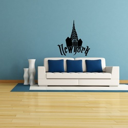 Chrysler New York Wall Decal ( KC242 )