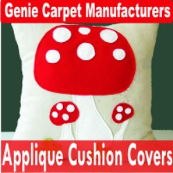Applique Cushion Covers