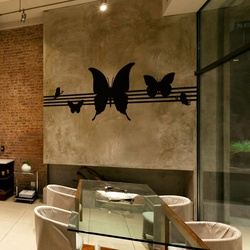 Pretty Wings Wall Decal ( KC300 )