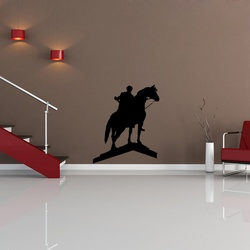 Joan of Arc Wall Decal ( KC214 )