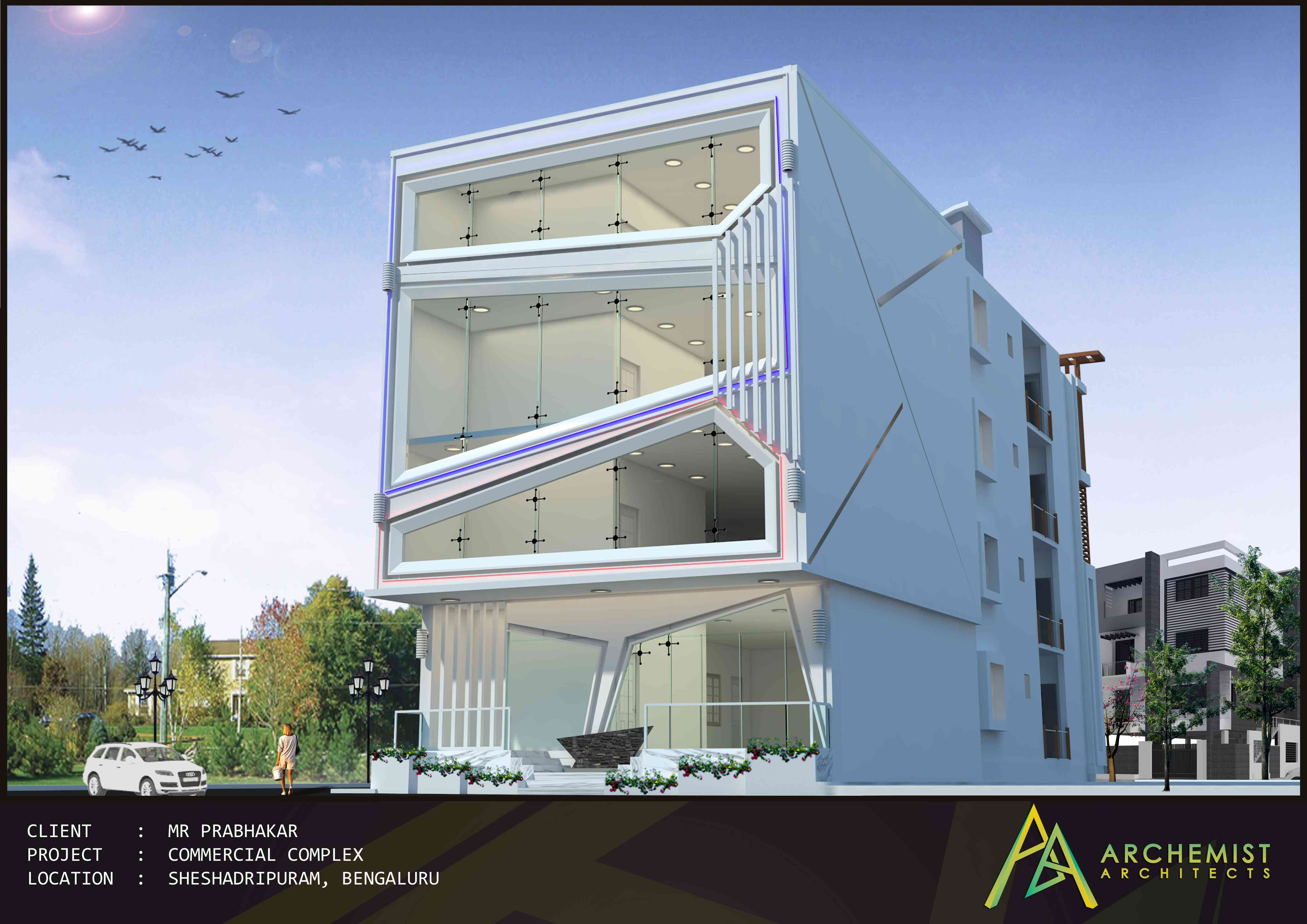 Commercial Projects Of Archemist Architects